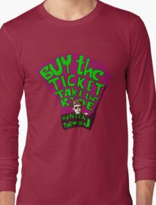 Hunter S. Thompson quotes Long Sleeve T-Shirt