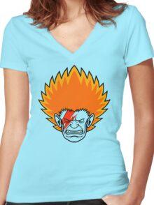 BLANKA STARDUST Women's Fitted V-Neck T-Shirt