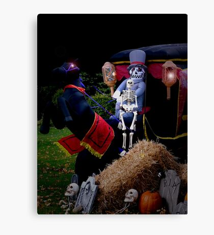 Scary Carriage Canvas Print