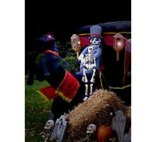 Scary Carriage Photographic Print