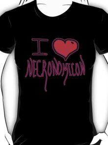 Necronomicon  fictional grimoire  horror writer H. P. Lovecraft  T-Shirt