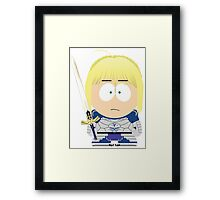 Saber South Park Framed Print