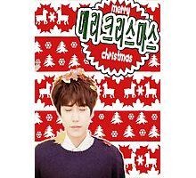 Merry Kpop Xmas [Kyuhyun] Photographic Print