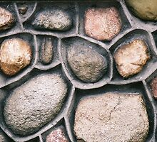 Rocks on a Wall by leftoverthings