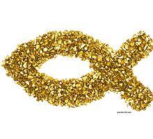 Custom Gold Ichthys by faithphotoart