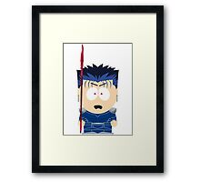 Lancer South Park Framed Print
