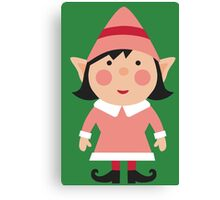 pink elf Canvas Print