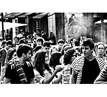 A Future Up In Smoke ? Photographic Print