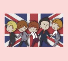 ONE DIRECTION BRITISH FLAG by lawdesign