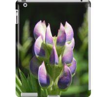 Purple Lupin iPad Case/Skin