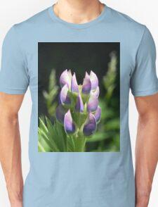 Purple Lupin Unisex T-Shirt