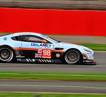 Aston Martin Racing No 98 by Willie Jackson