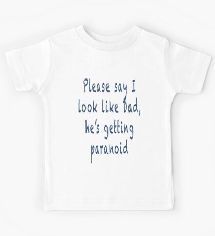 Daddy Issues Kids Tee