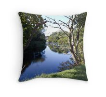 River Girvan Throw Pillow