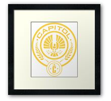 The Hunger Games Capitol Seal Framed Print