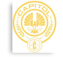 The Hunger Games Capitol Seal Canvas Print