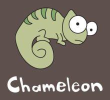 C for Chameleon by gillianjaplit