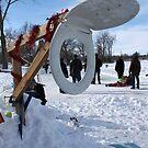 Winter Basketball by Marilyn Bell