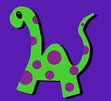 Frederick the Dinosaur by OneBlackSheep