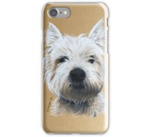 Tilly the beautiful little Westie iPhone Case/Skin