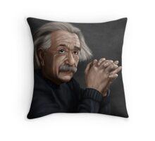 Alber Einstein Throw Pillow
