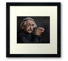 Alber Einstein Framed Print