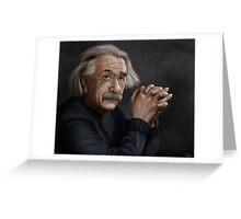 Alber Einstein Greeting Card
