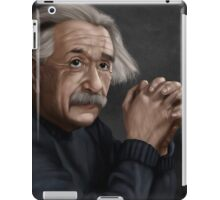 Alber Einstein iPad Case/Skin