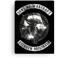 Sons of Warcraft Canvas Print