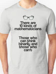 Maths - Binary - Funny T-Shirt