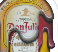 Tequila Sunrise Sticker