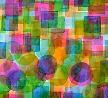 Befriended Squares and Bubbles by Heidi Capitaine
