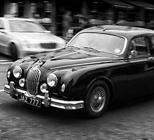 Mk II Jaguar by Simon  Goyne