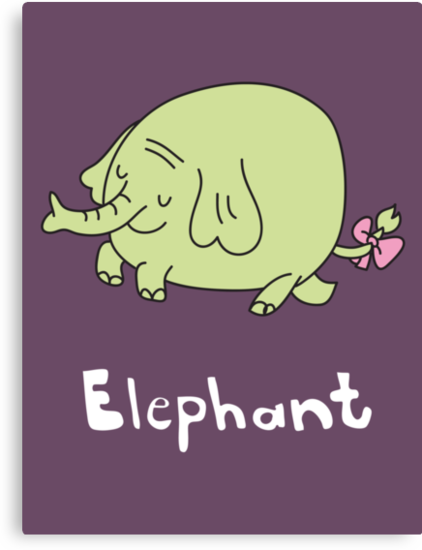 E for Elephant by gillianjaplit