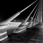 The Bridge at Night - 1 by Simon  Goyne