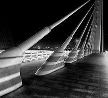 The Bridge at Night - 1 by Simon  Goyne