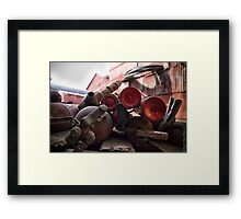 Extinguishers Framed Print