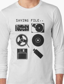 Where to save file? Long Sleeve T-Shirt