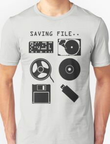 Where to save file? Unisex T-Shirt