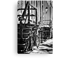 Amsterdam: The Bike Canvas Print