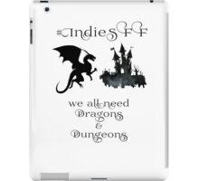 IndieSFF Dragons & Dungeons iPad Case/Skin