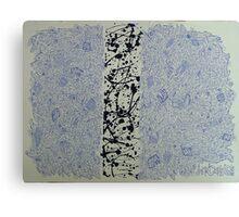 Chaos 3 - Blue Canvas Print