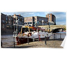 River Ouse in York Poster