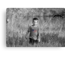 Man on a Mission... Canvas Print