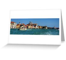Vaporettos on the Giudecca Greeting Card