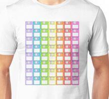 Floppy Disk Rainbow  Unisex T-Shirt