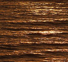 Abstract Sunset by Bob Hardy