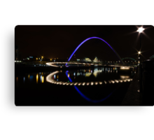 Geordie UFO Canvas Print