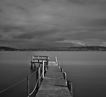 Kinnegar Jetty by ptjphotography