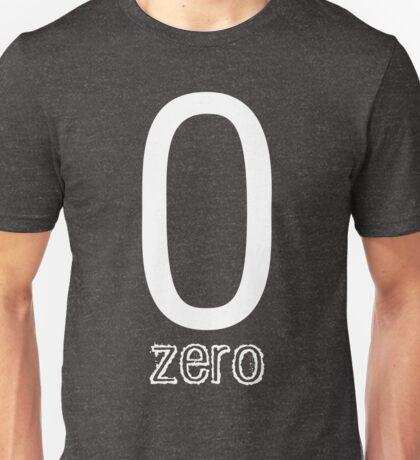 zero, 0,0 Unisex T-Shirt